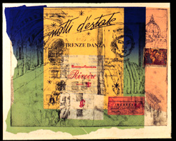 Color etching with chine colle (collage)